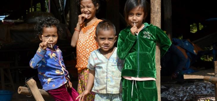 Život v Kambodži